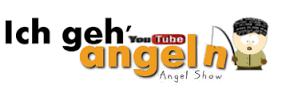 Ich geh Angeln Logo