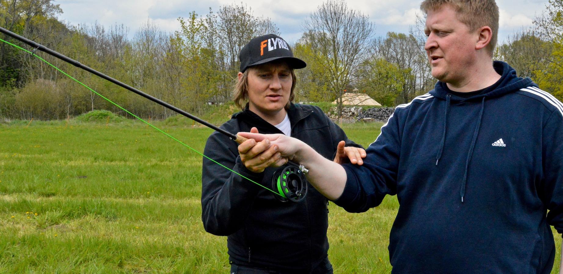Fliegenfischen lernen inklusive Fliegenfischen Wurftechnik