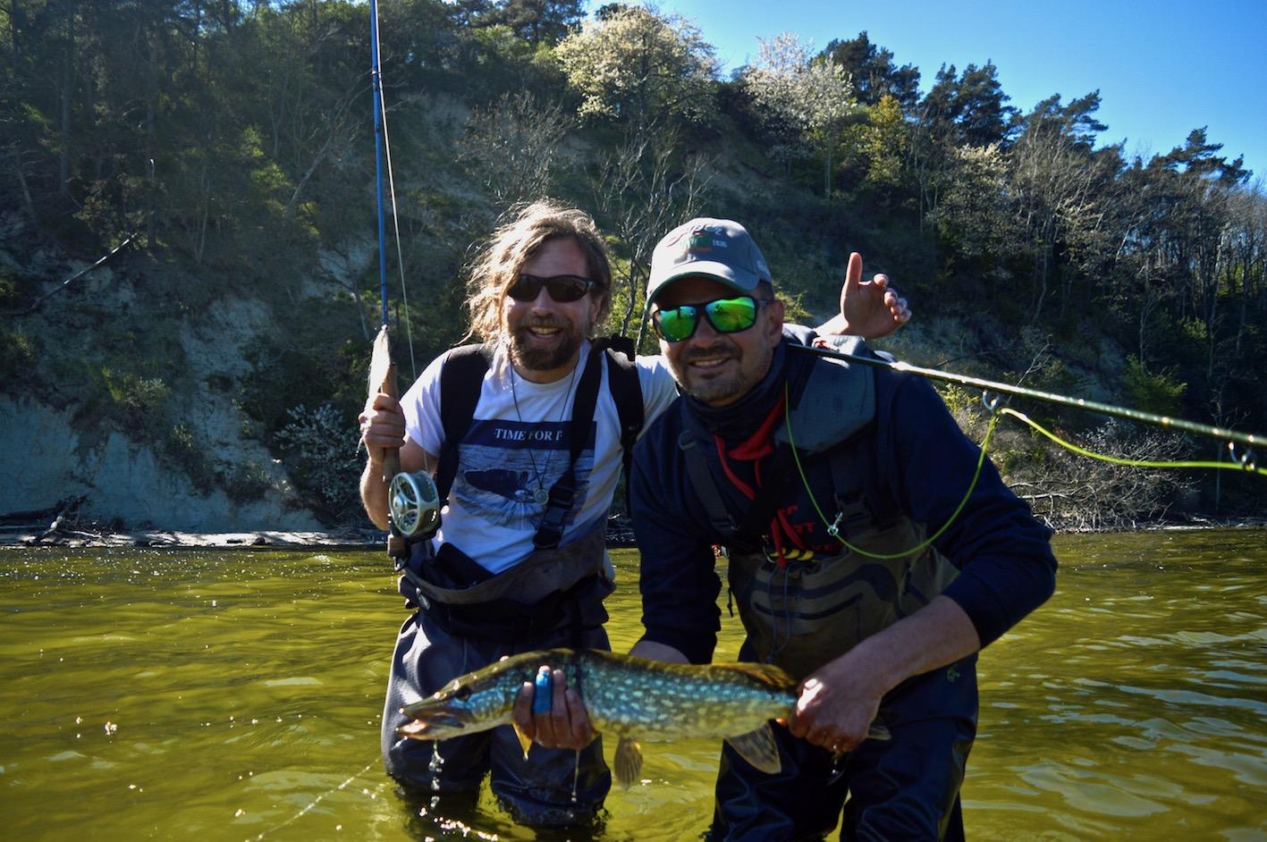 Peter Wollrab Guide bei Fliegenfischerschule FLYRUS