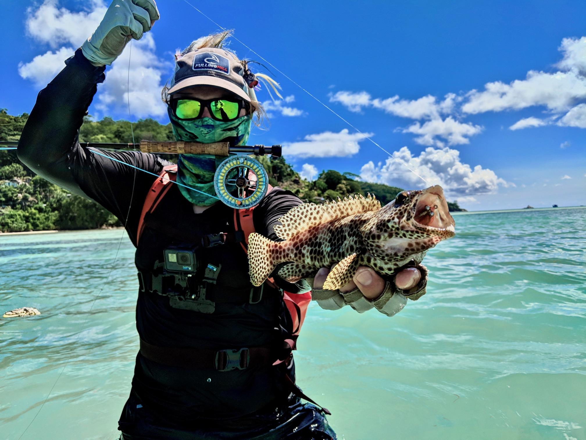 Seychellen Fliegenfischen