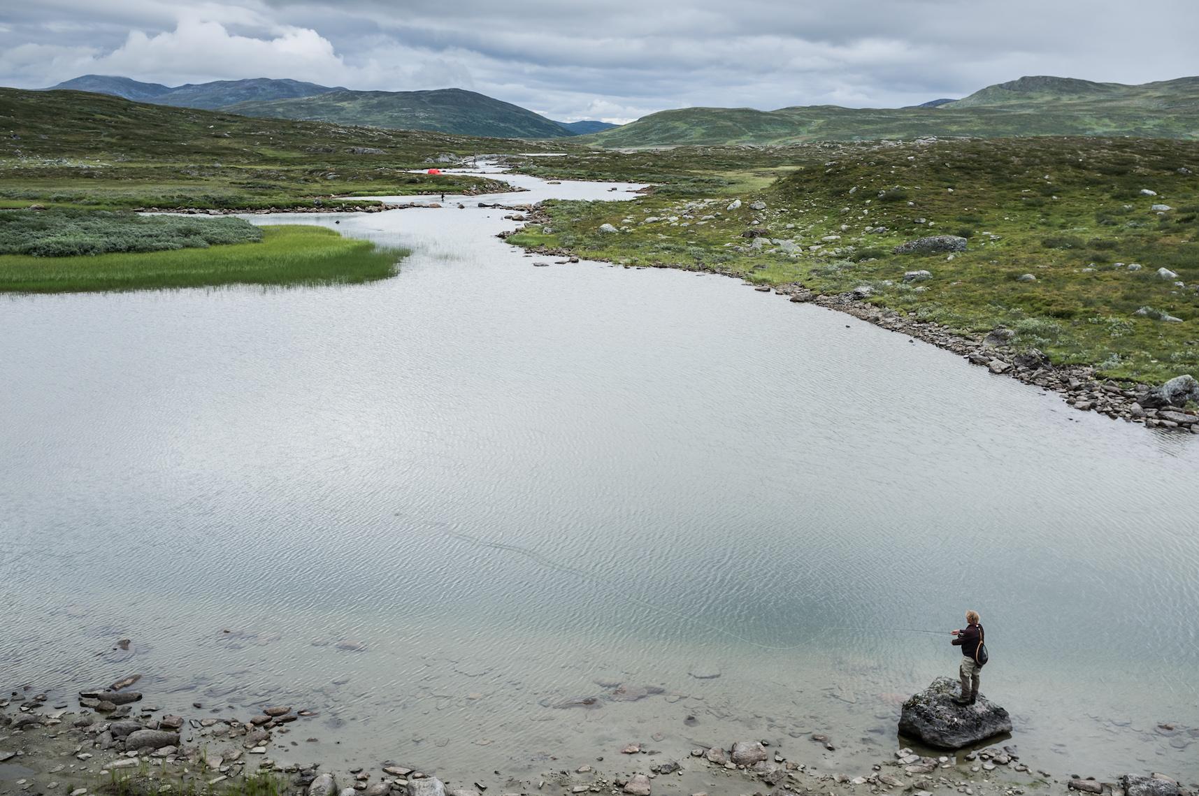 Fliegenfischen Schweden