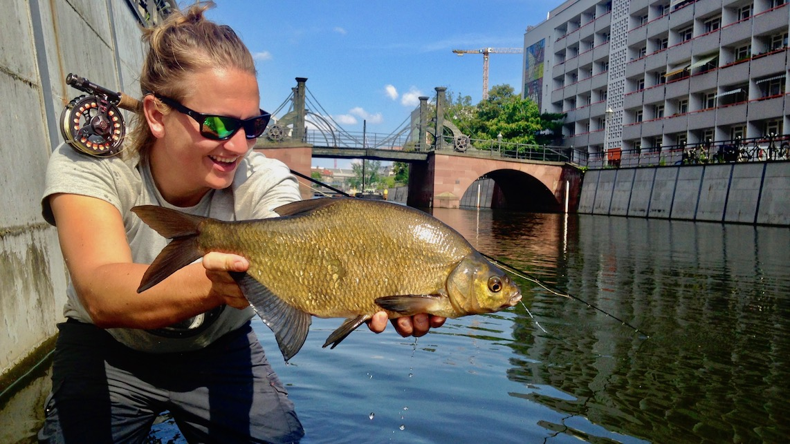 fly fishing Germany, fly fishing berlin, urban fly fishing
