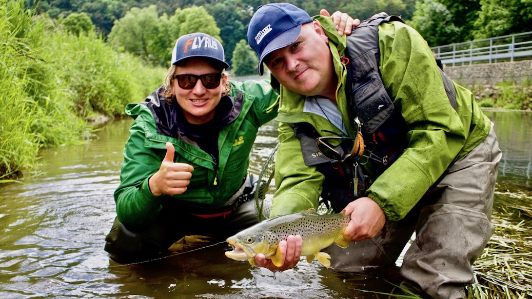 fly fishing Bavaria, fly fishing in Munich