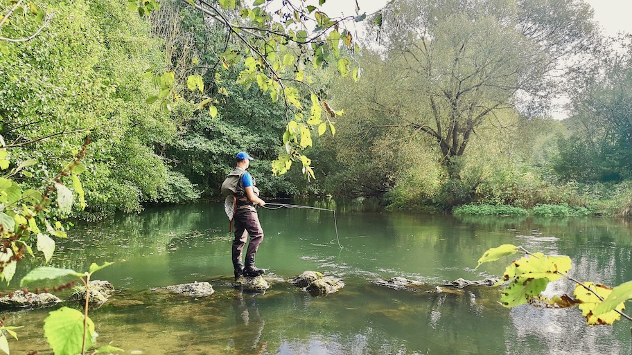 fly fishing in Germany, Bavaria