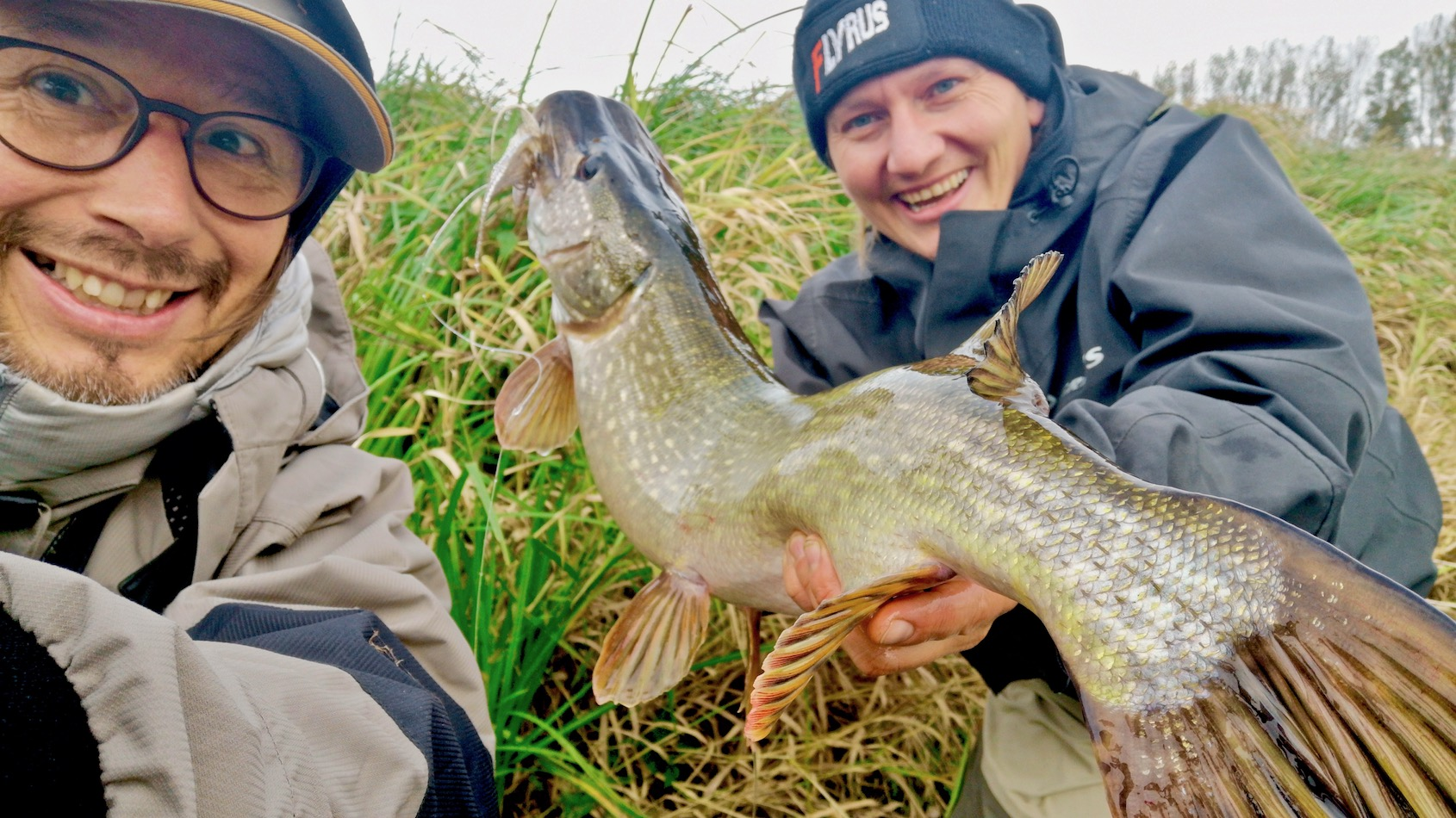 pike fishing Germany, fly fishing