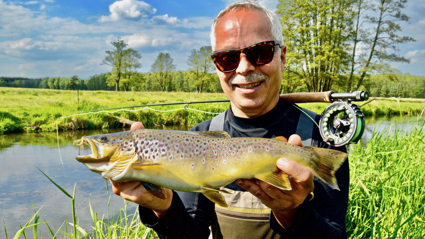 trout fly fishing in Germany