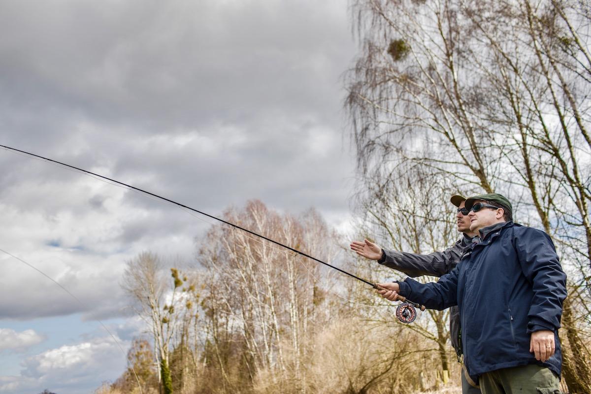 Fliegenfischen Wurftechnik, Fliegenfischen Werfen, Fliegenfischen lernen