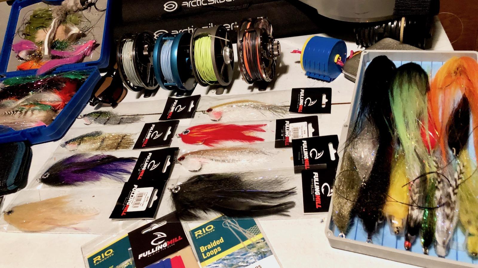 Hecht Fliegenfischen Ausrüstung