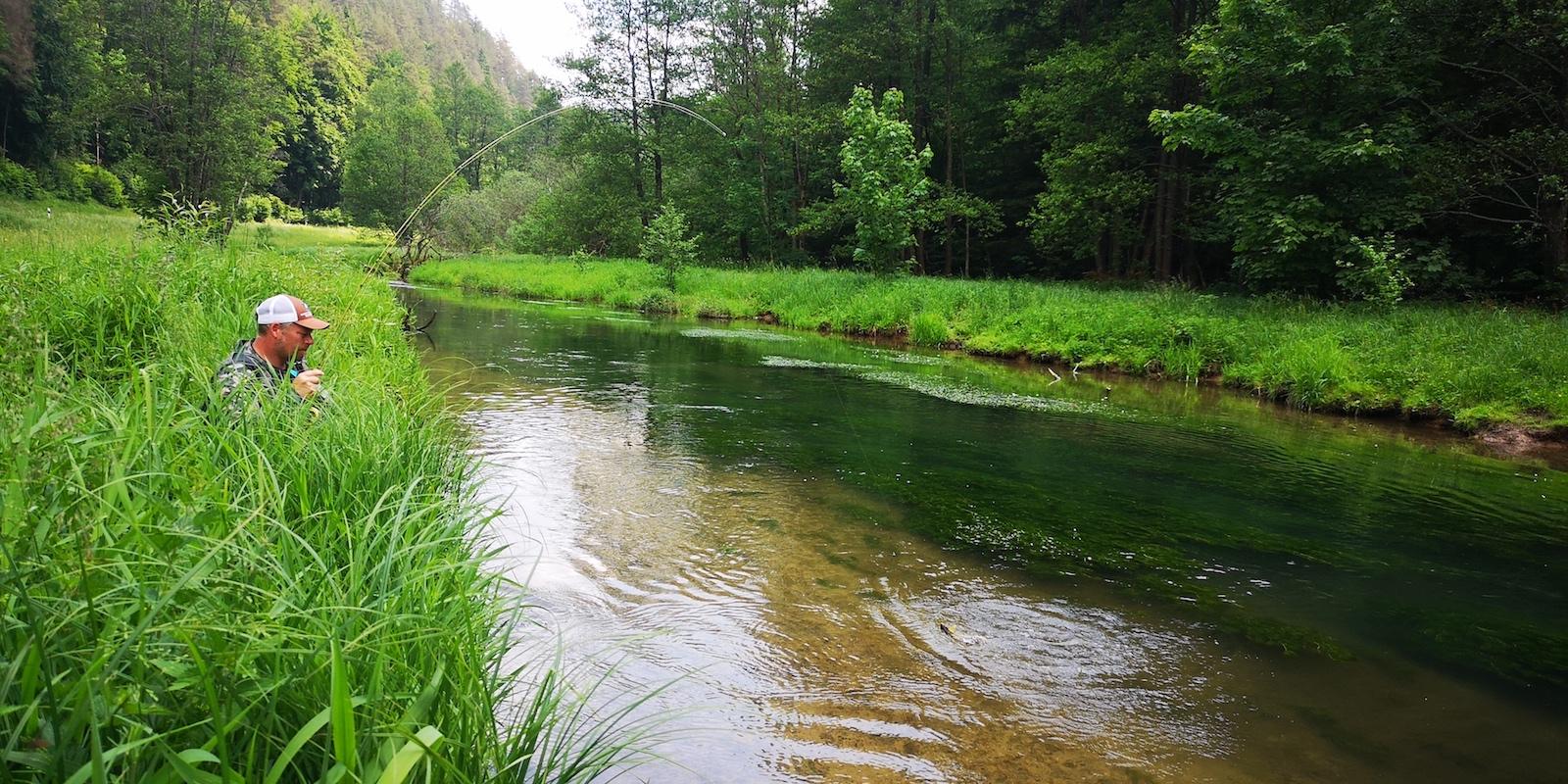 Fliegenfischen Bayern